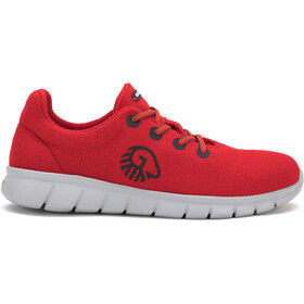 Giesswein Merino Wool Runners Dames, flame red